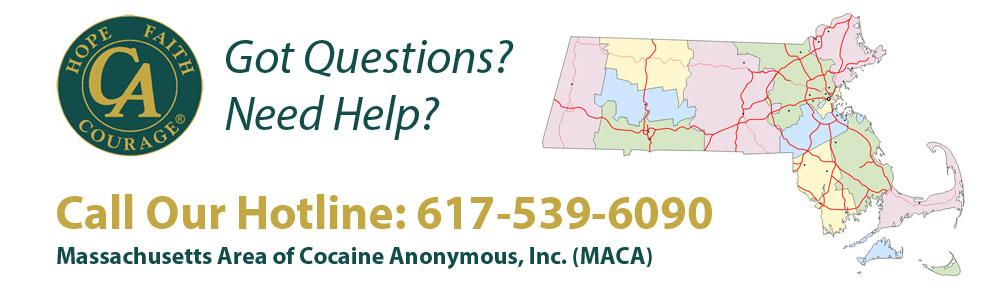 Massachusetts Area of Cocaine Anonymous, Inc. (MACA)